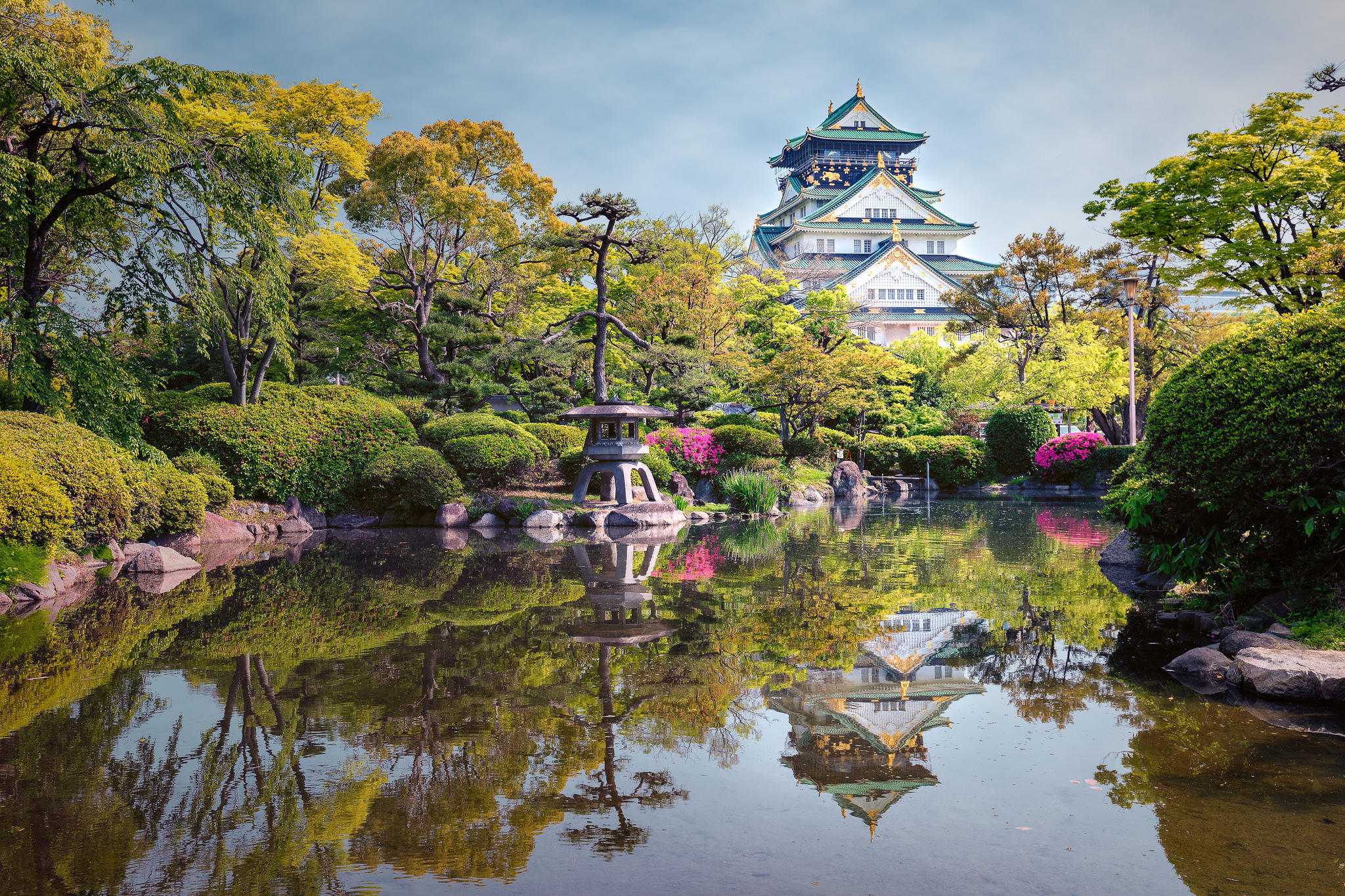 Slikovni rezultat za osaka castle free photo