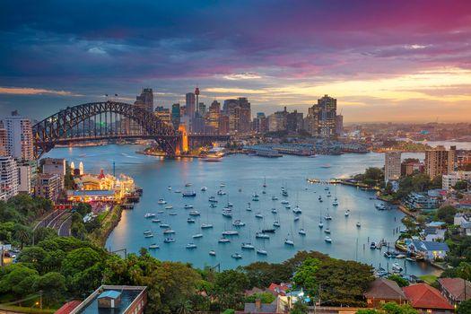 Бесплатные фото Сидней,Австралия,закат