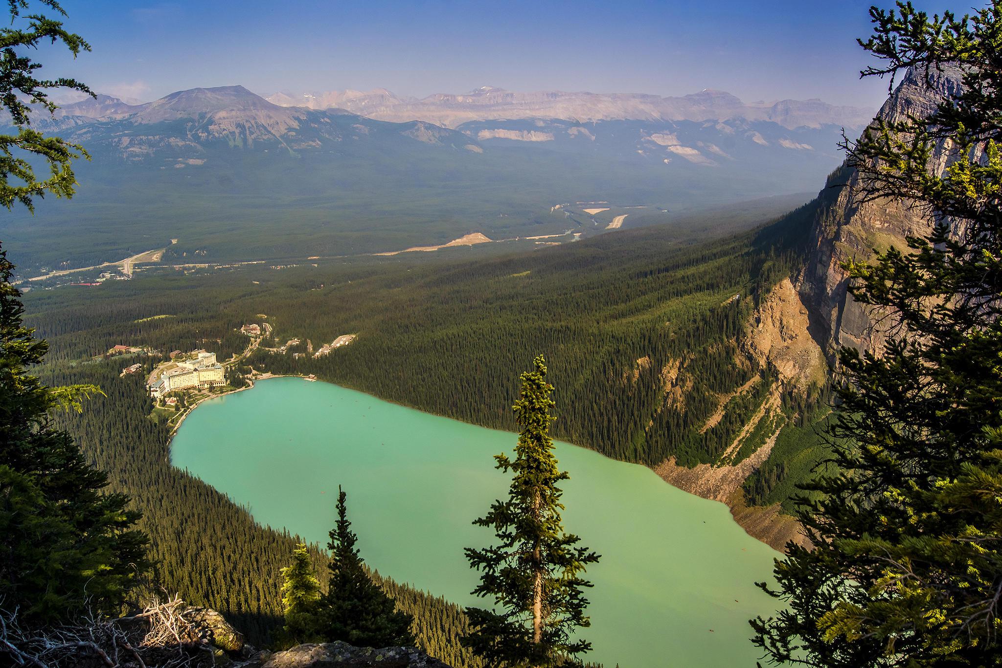 Скалистые Горы, Banff, Озеро Луиза
