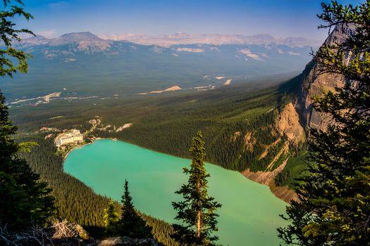 Бесплатные фото Скалистые Горы,Banff,Озеро Луиза,Альберта,Канада