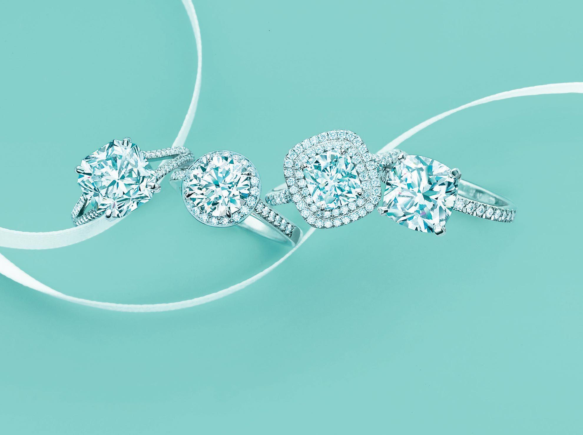 Обои стиль, diamond, кольца, украшения
