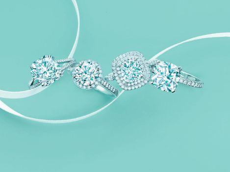 Фото бесплатно стиль, diamond, кольца, украшения