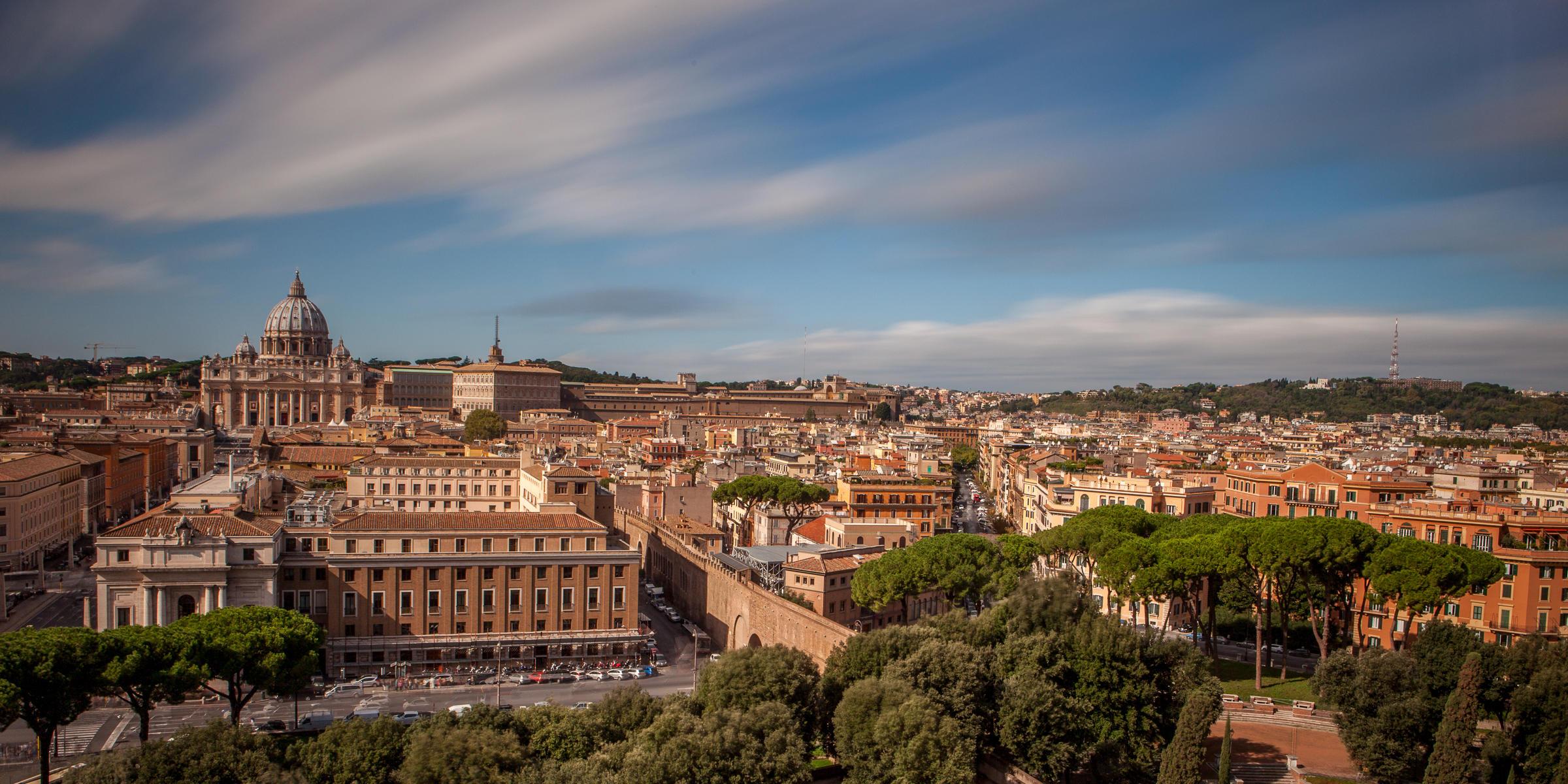 Рим, Италия, панорама