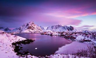 Бесплатные фото Лофотенские острова, Рейне, Reine, Норвегия, Lofoten, Lofoten Islands, Hamnoy
