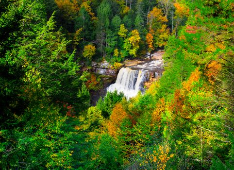 Photo free Blackwater State Park, West Virginia, autumn