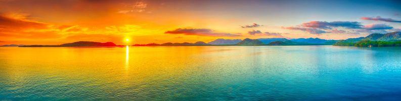 Бесплатные фото тропики, острова, море, закат