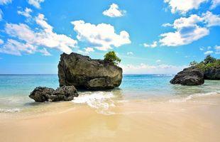 Бесплатные фото море, пляж, камни