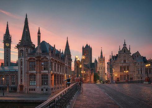 Фото бесплатно Бельгия, Гент, Gent