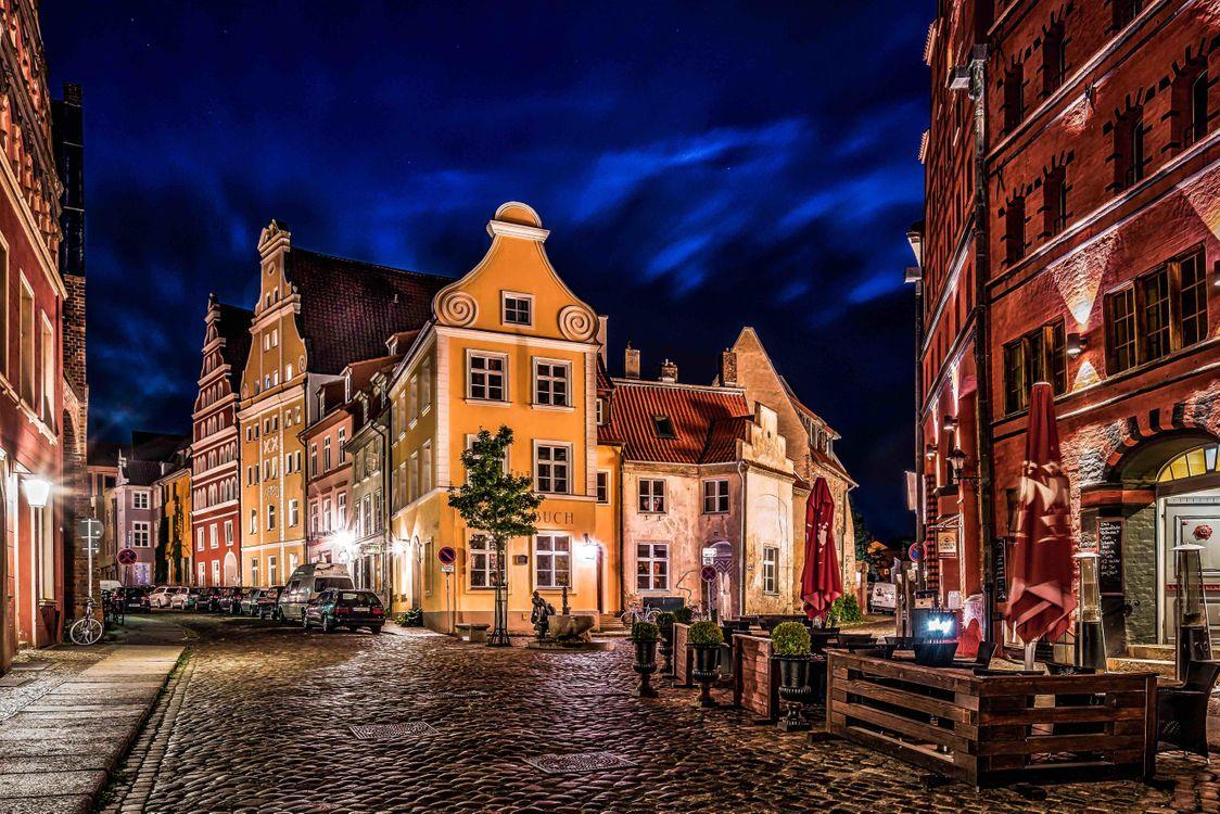 Фото бесплатно Штральзунд, улица, Городской пейзаж - на рабочий стол
