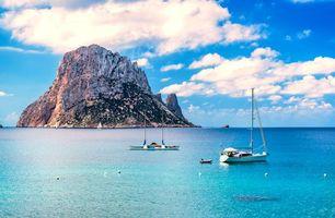 Бесплатные фото море,остров,яхты