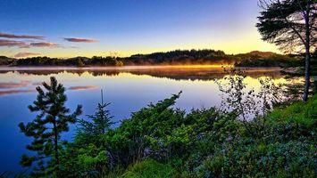 Фото бесплатно Норвегия, пейзаж, закат