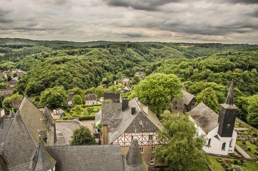 Бесплатные фото Германия,сельская местность,Северный Рейн,Schloss Burg,Золинген
