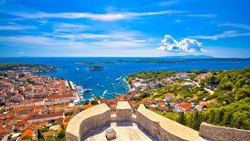 Фото бесплатно Хорватия, море, город