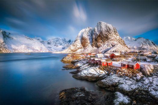 Фото бесплатно Лофотены, Норвегия, Лофотенские острова