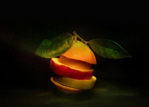 Фото бесплатно фрукты, десерт, еда