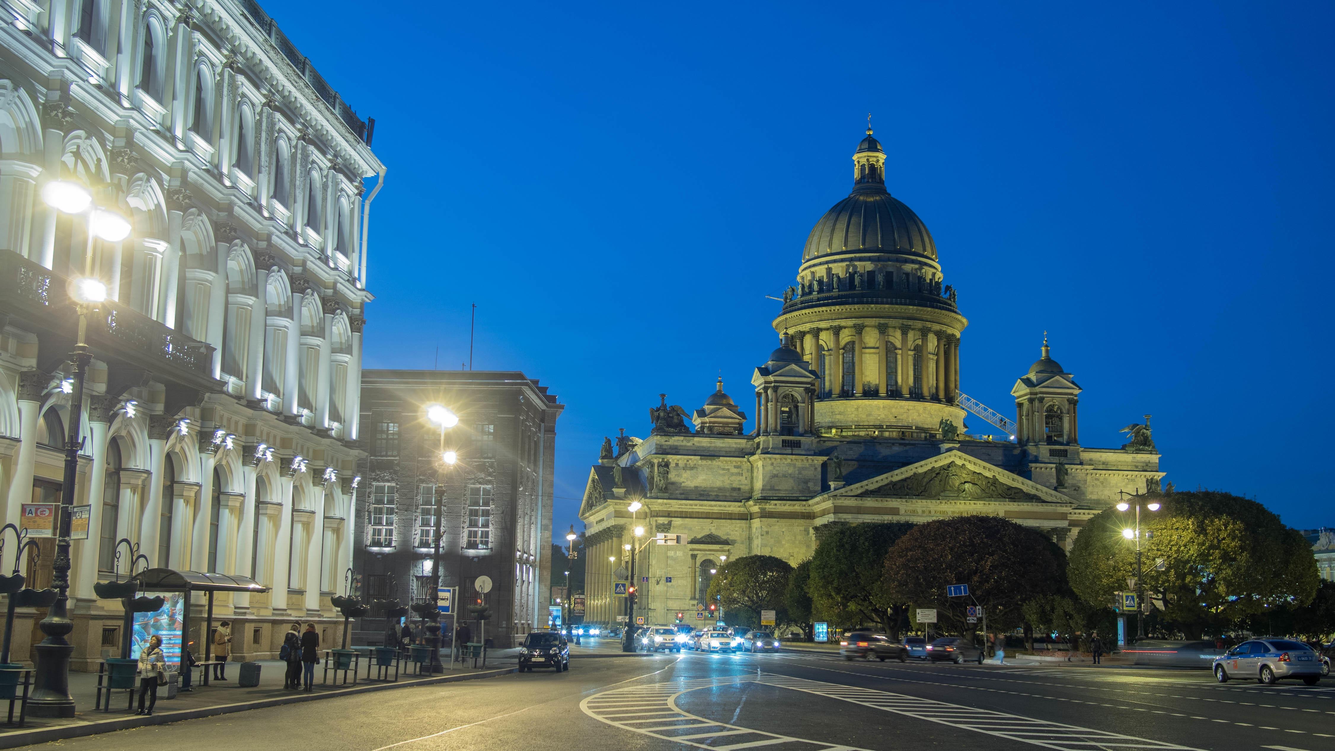 обои St Isaac s Cathedral, Saint-Petersburg картинки фото