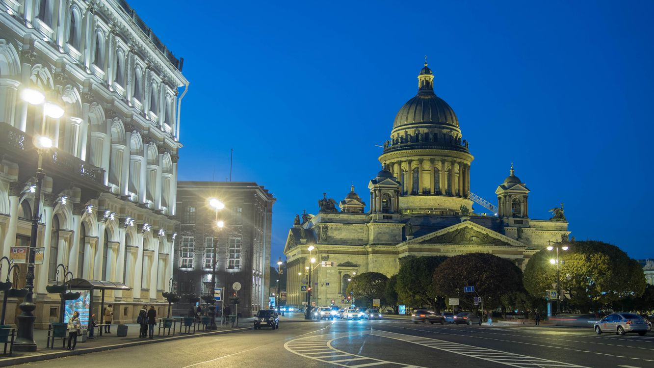 Фото бесплатно St Isaac s Cathedral, Saint-Petersburg, город