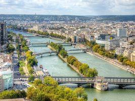 Заставки Париж, Франция, Сена
