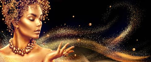 Бесплатные фото девушка, украшения, золото