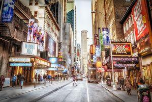 Фото бесплатно Нью-Йорк, Уличная фотография, Таймс Сквер