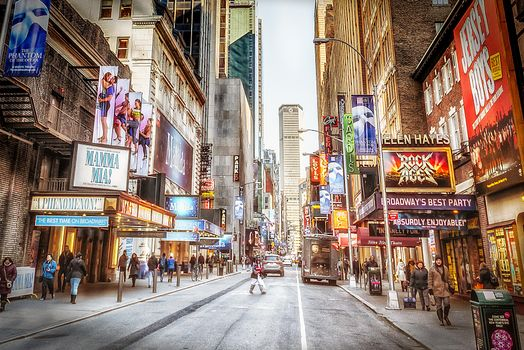Photo free New York, Street Photography, Times Square