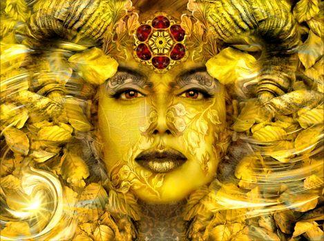 Адхейм,Мистическое золото,Золотая осень