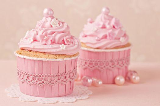 Фото бесплатно розовый, кекс, детка