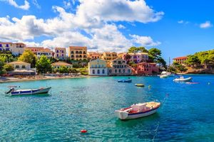 Фото бесплатно море, город, лодки