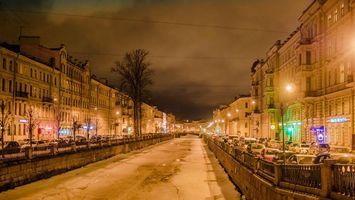 Фото бесплатно Санкт-Петербург, дома, машины