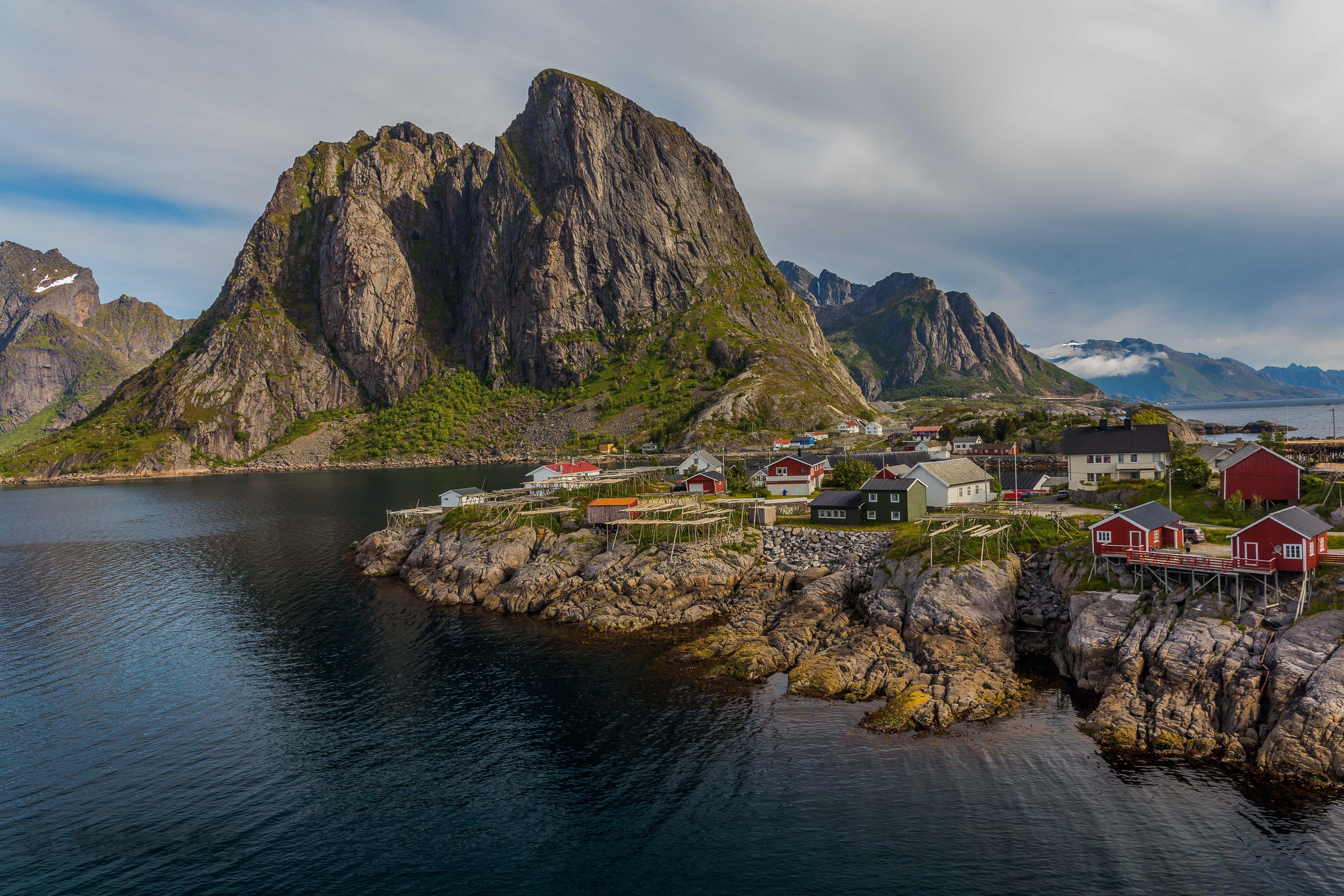 Обои Лофотенские острова, Рейне, Reine, Норвегия