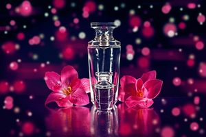 Бесплатные фото флаконы,цветы,духи