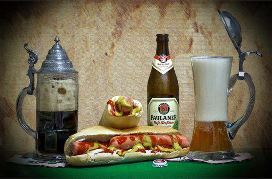 Photo free beer, mug, bottle