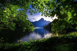 Бесплатные фото Озеро,Obersee,Glarnerland,Швейцария