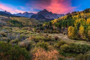 Фото бесплатно осень, горы, горы Сан-Хуан