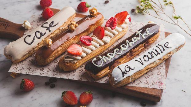 Фото бесплатно shokolad, glazur, klubnika