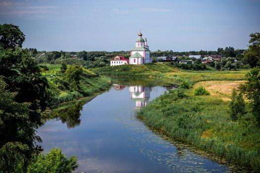 Фото бесплатно пейзаж, Суздаль, Каменка