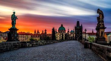 Бесплатные фото Чешская Республика,Прага,Charles Bridge,Карлов Мост,Чехия
