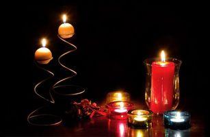 Бесплатные фото стол, свечи, огонь, пламя, натюрморт