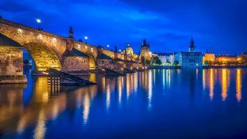 Фото бесплатно Карлов мост, Прага, Чехия