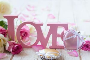 Заставки любовь, валентинка, цветы