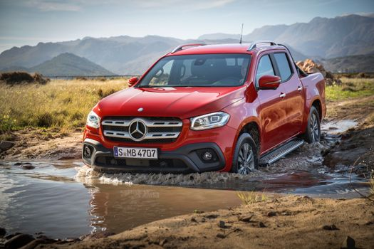 Screensaver machine, mercedes-benz x-class