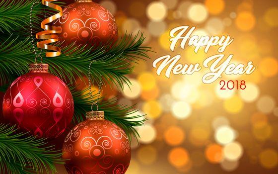 Beautiful new year · free photo