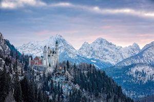Бесплатные фото Замок Нойшванштайн, Бавария, Швангау, Германия