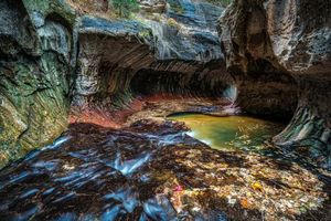 Бесплатные фото Zion National Park,речка,горы,скалы,Каньон,пейзаж