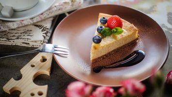 Фото бесплатно tort, iagody, chizkeik