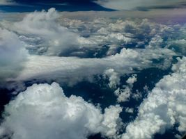 Фото бесплатно небо, облака, природа
