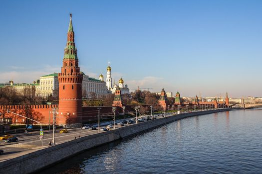 The picture on the subject of moscow, russia
