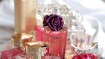 Photo free perfume, decoration, bottles