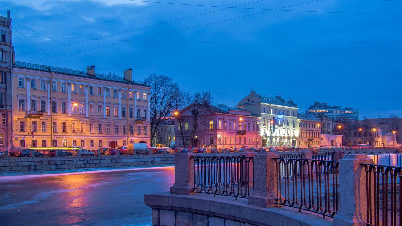 Картинка санкт-петербург, реки фонтанки на телефон