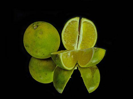 Фото бесплатно оранжевый, ломтики, фрукты